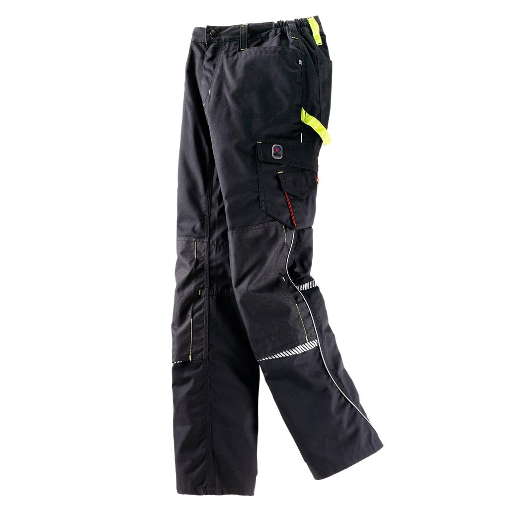 Bundhose Terrax Workwear Gr.52 schwarz limette 65% PES PES PES 35% CO Terrax B07B4WXGLV Arbeitshosen Neues Design 8748ea