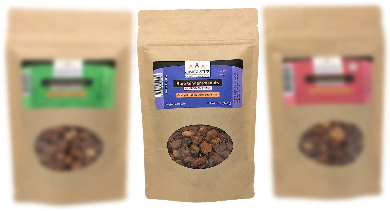 Cambodian Roast Peanuts - 5oz (Blue Ginger)