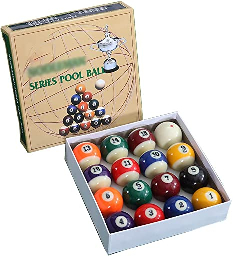 WXS Billar Pool Balls, 57.2MM Juego Bolas Mesa Billar Americano ...