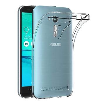 AICEK Funda ASUS Zenfone Go ZB500KL, Transparente Silicona Fundas para Zenfone Go ZB500KL Carcasa (5,0 Pulgadas) Silicona Funda Case