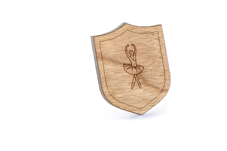 Tutu Lapel Pin Wooden Pin