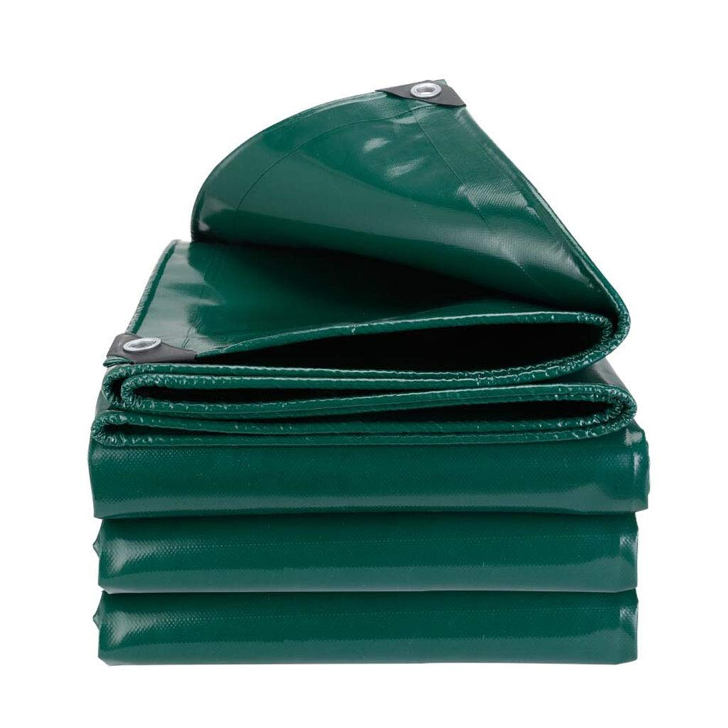 YX-Planen Grüne Plane schwere Wasserdichte Folie Hochwertige PVC-Abdeckung - - - 100% wasserdicht und UV-geschützt - Dicke 0,5 mm, 650 g m² B07KXNXYK1 Zeltplanen Erschwinglich 112f4c