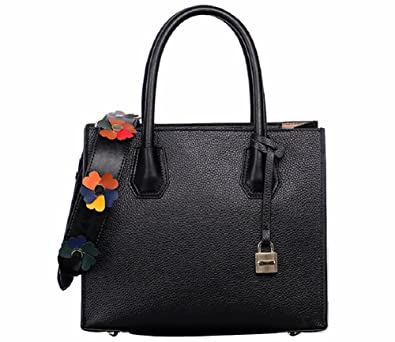 1b35e3f22eae Women s Top Handle Handbags Tassel Genuine Leather Lady Satchel Shoulder Bag  By JiYe