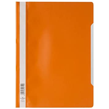 Schnellhefter Papphefter DIN A4-20 Stück Orange