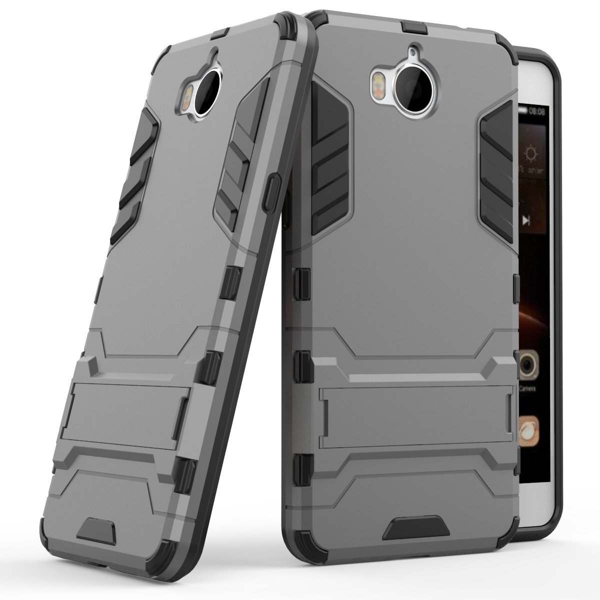 Huawei Y Funda SMTR Ultra Silm Híbrida Rugged Armor Case Choque Absorción
