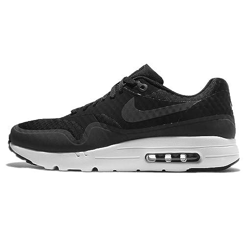 moins cher 21949 b02d3 Nike Air Max 1 Ultra Essential, Chaussures de Gymnastique Homme, Noir