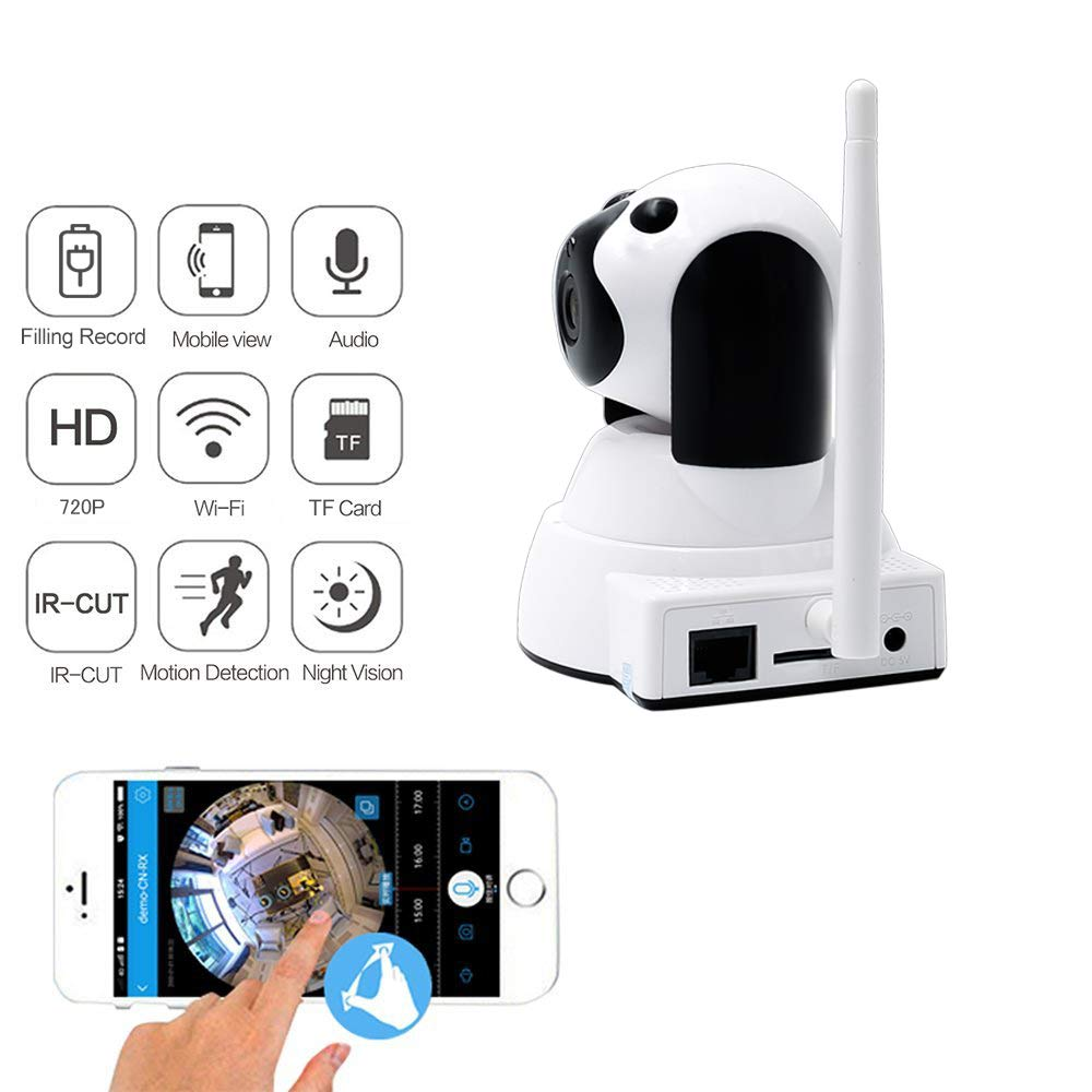 Nos micr/ófono Integrado Liyeehao Monitor de beb/é c/ámara IP inal/ámbrica para ni/ñera c/ámara de Seguridad de visi/ón Nocturna con v/ídeo Digital de 3,5  para Monitor de beb/é