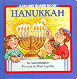 Hanukkah Chubby Board Book, Alan Benjamin, 0671870696