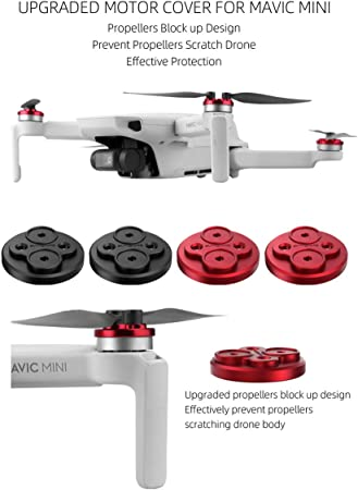 Para Mini Drone DJI Mavic à prova de poeira proteger Upgrade Motor Capa Com Parafusos-SL
