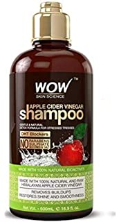 Amazon.com : Wow Apple Cider Vinegar Hair Shampoo and Wow ...