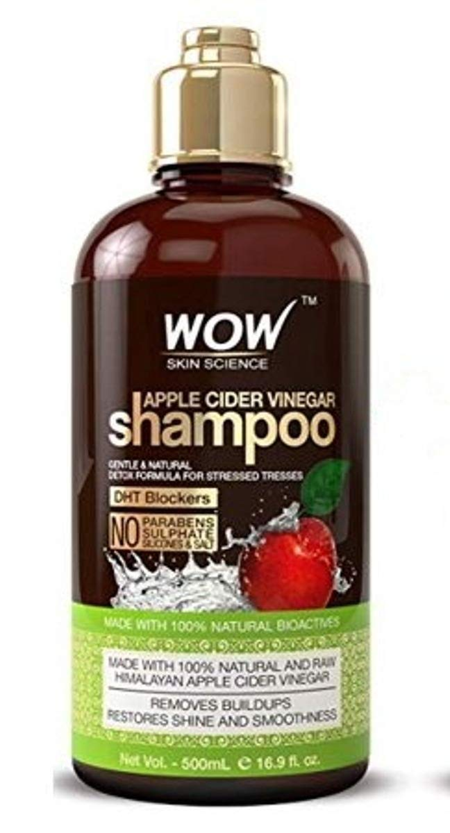 WOW Apple Cider Vinegar Shampoo + Hair Conditioner (500m/16.9 FL Oz each) by WOW