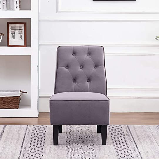 ANNJOE Armless Accent Chair