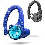 Plantronics BackBeat Fit 3150 True Wireless Bluetooth Sport Headset, in-Ear, IP57, Earhook, Black/Blue