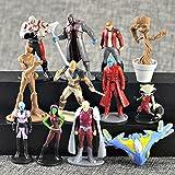 Marvel Guardians of the Galaxy Vol.2 Action Figures | 12 pcs Set Toys Cake Topper + Pencil Topper Cap | by ToysOutletUSA