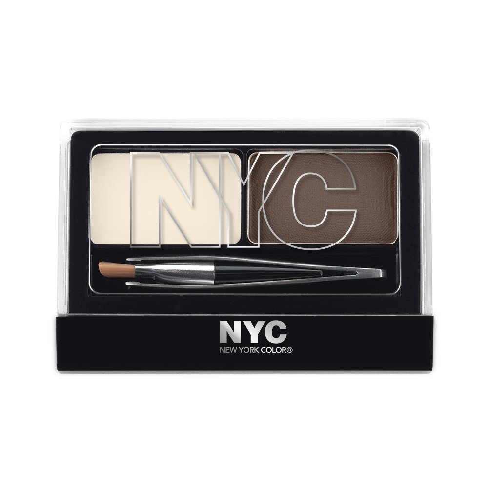 Amazon Nyc New York Color Browser Brush On Brow Kit
