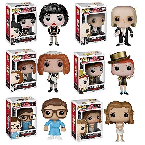 Funko Pop Rocky Horror Picture Show Figure Set Of 6 Buy Online In