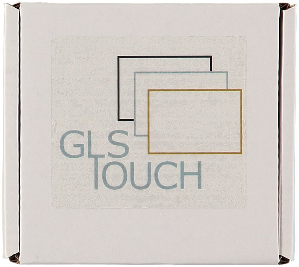 Glstouch Luxury Designer Silver White Brushed Aluminium Frame 1 Gang 3 Pole Light Switch Glass Dimmer Touch Panel On Off Way Lighting