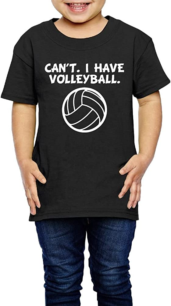 2-6 Years Old Kcloer24 Cant I Have Volleyball Kids Baby Boy Cute T-Shirt Summer Clothes