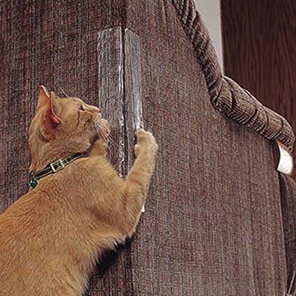 LIXING Anti-Agarre Gato Entrenamiento Cinta Muebles Cubierta Protectora Garra De Gato Protección Sofá,