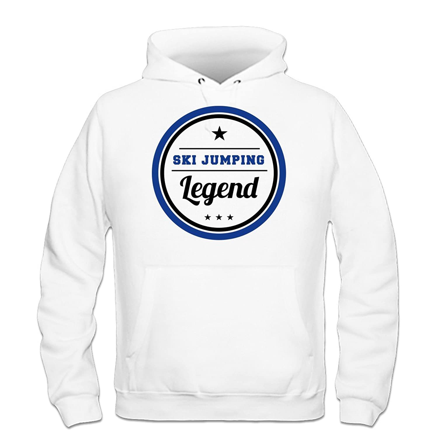 Ski Jumping Legend Kapuzenpulli by Shirtcity