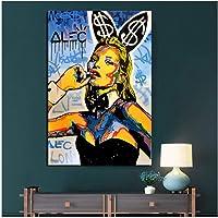 Muhammad Ali-Haj Boxing Boxer Champion Art///Fabric Poster Im/ágenes deportivas para decoraci/ón de dormitorio Decoraci/ón de sala de estar Imprimir en lienzo-50x70cm Sin marco