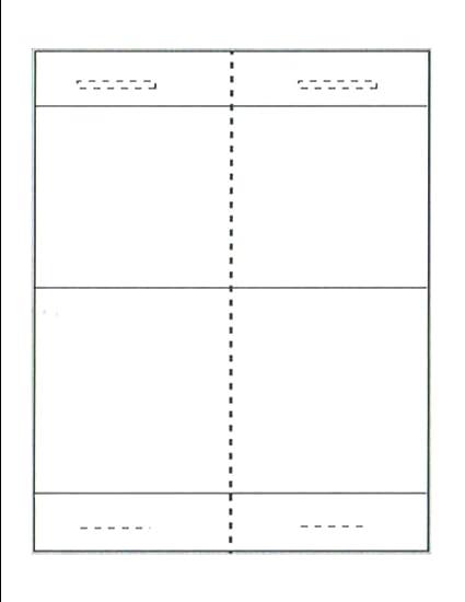 "Listo para imprimir plegable mesa Talker (4 – 1/4 ""x 3"
