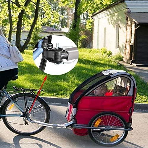Instep Bike Fahrradanh/änger Kupplung Befestigung f/ür Burley Bike mit 1Pack Bungee Cord f/ür Fahrradgep/äckriemen. JatilEr 2PCS Fahrradanh/ängerkupplung