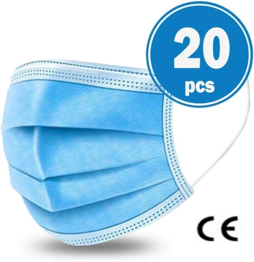 JHLP - Filtro desechable de 3 capas para dentistas, comodidad quirúrgica, transpirable, belleza y polvo