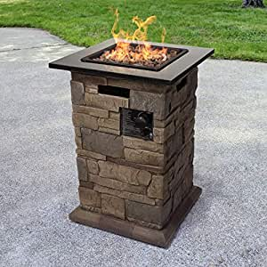 Bond Manufacturing 51228 Morgan Hill Fire Column, Stone-Look
