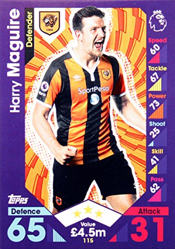 Match Attax 16/17 > Harry Maguire Hull City > #115