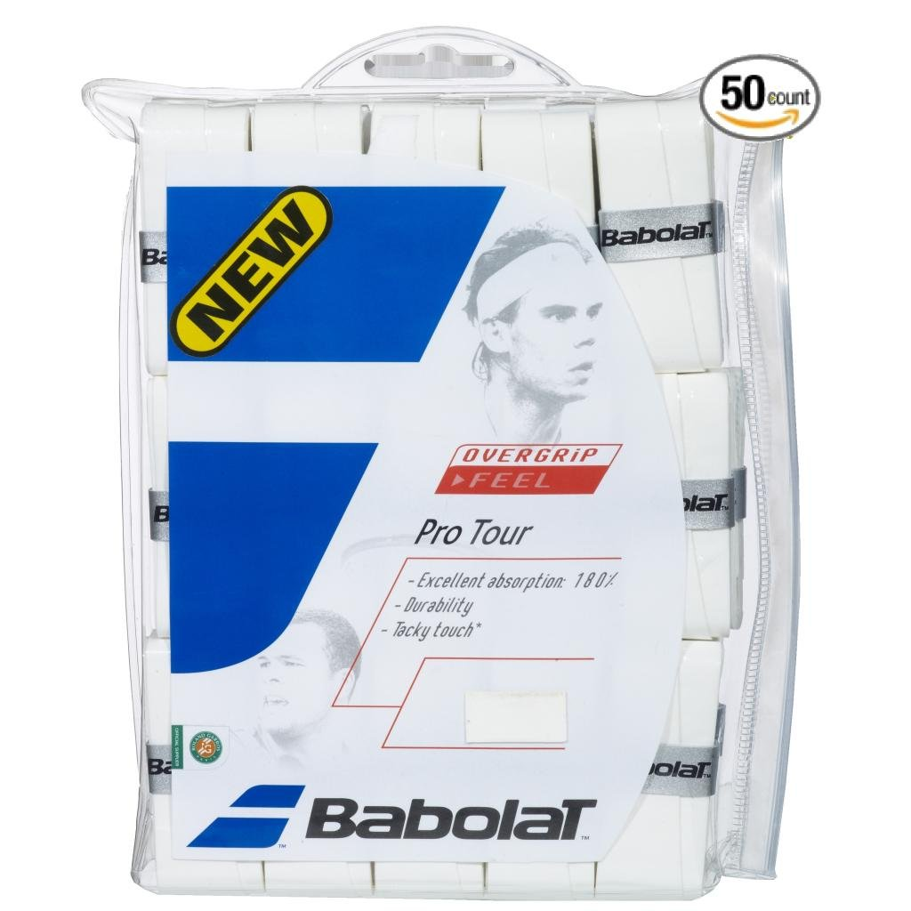 Babolat Pro Tour Tennis Overgrip - Choice of 12, 30, 50 Pack (50 Pack)