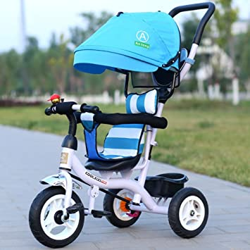 DACHUI Ruedas inflables carrito de bebé, niños triciclo ...