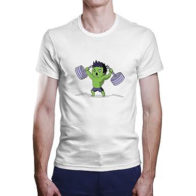 OKAPY Camiseta de Hulk. Una Camiseta de Hombre con el Emblema de ...
