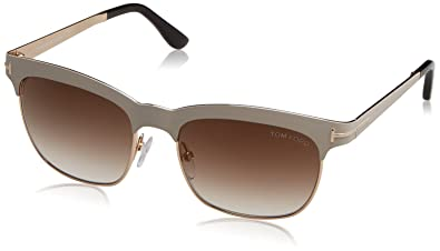 b1714e79fbc Image Unavailable. Image not available for. Color  Tom Ford Elena Sunglasses  ...