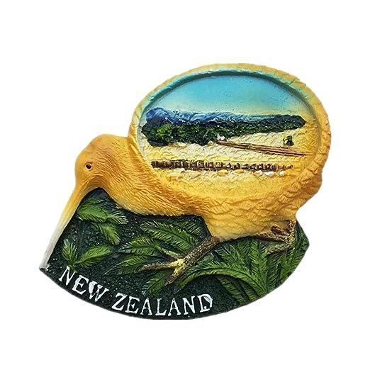 Weekinglo Souvenir Bird Kiwi Nueva Zelanda 3D Imán de Nevera ...