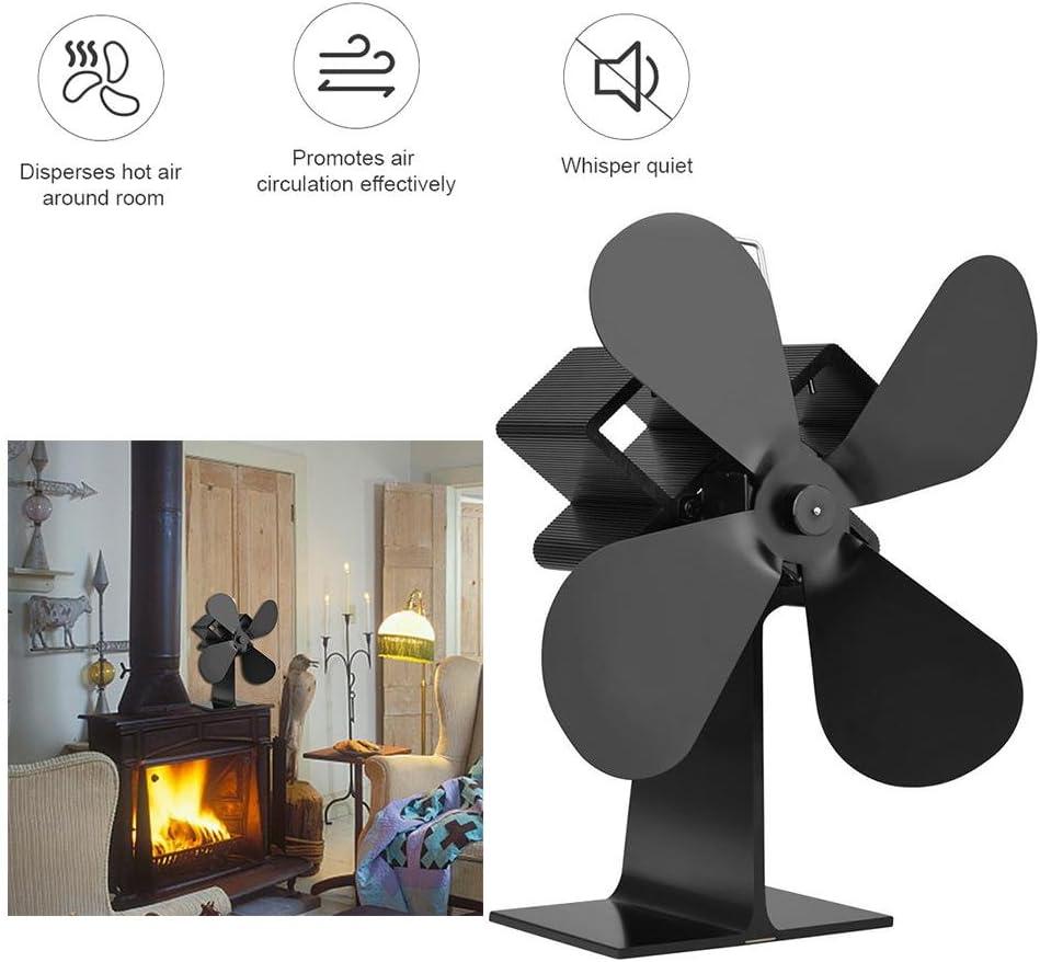 Ventilador silencioso para estufas con ventilador de calefacción ...
