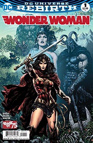 Wonder Woman #1 VF/NM Liam Sharp Cover 1st Printing DC Rebirth