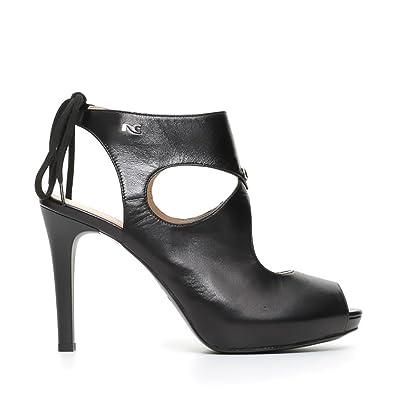 Chaussures NERO GIARDINI Femme NERO Cuir naturel P717371DE-100 udRukzMj8
