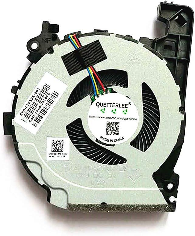 Repuesto para ventilador de CPU HP Pavilion 15 SPS-L20335-00