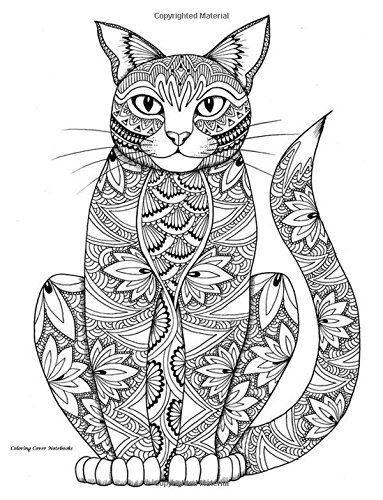 Coloring Cover Notebook (Slim Cat): Notebook for note taking, writing, research, and journaling with coloring design on cover for therapy, inner Notebooks, Sketchbooks, and Journals PDF