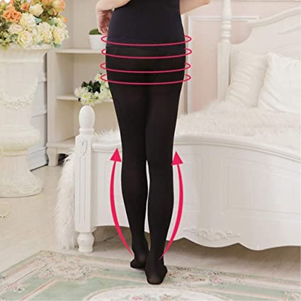 17141f0eb1042 Amazon.com  BoBoLing Women Compression Socks Beauty Slim Body Leg Shaper  Burn Fat Thin Stocking Pantyhose Black  Kitchen   Dining