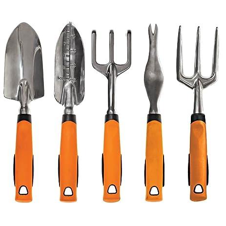 A.M. Leonard Complete Aluminum Gardening Tool Set (5 Tools)