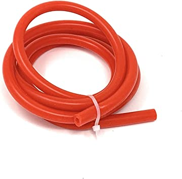 , Red 1//8 Inch Upgr8 Universal Inner Diameter High Performance 5 Feet Length Silicone Vacuum Hose Line 3MM
