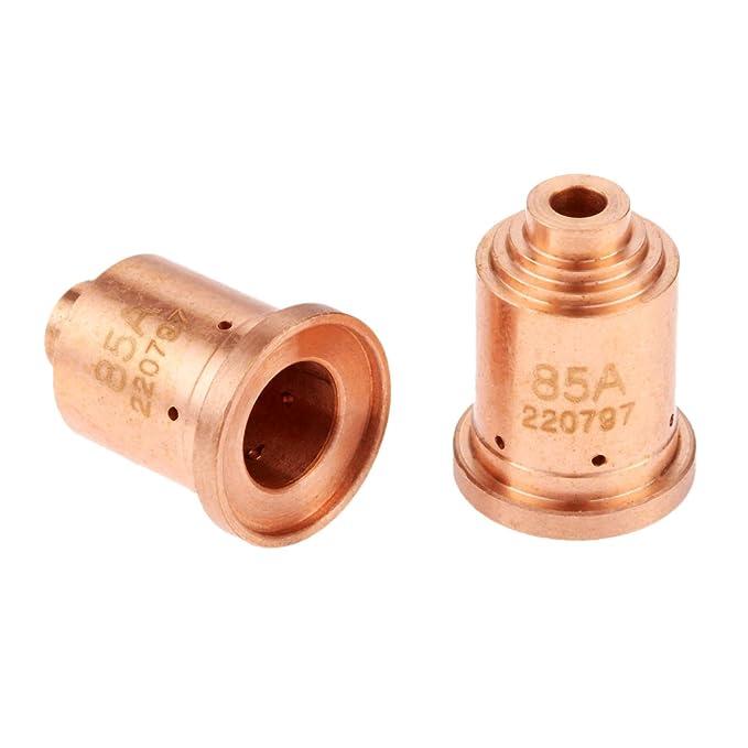 5pcs Plasma Nozzle 220797 Fit for PMX 65 85 65A 85A Gouging Handheld Mechanized