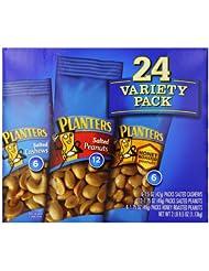 美亚:销量冠军!Planters Nut 香脆综合果仁包(花生,腰果)24小袋, 现点击coupon后仅售$8.06!