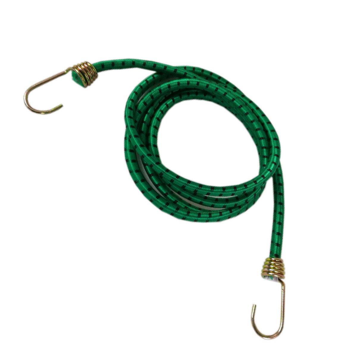 Corda Elastica 5 metri compresa di 2 Ganci Verde STI