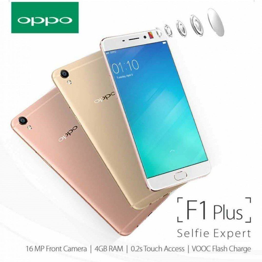 Oppo F1 Plus Gold 4gb Electronics F1s 32gb