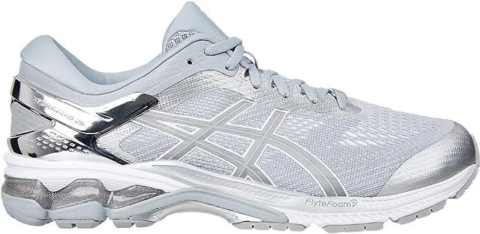 ASICS Mens Gel-Kayano 26 Platinum Running Shoes: Amazon.es ...