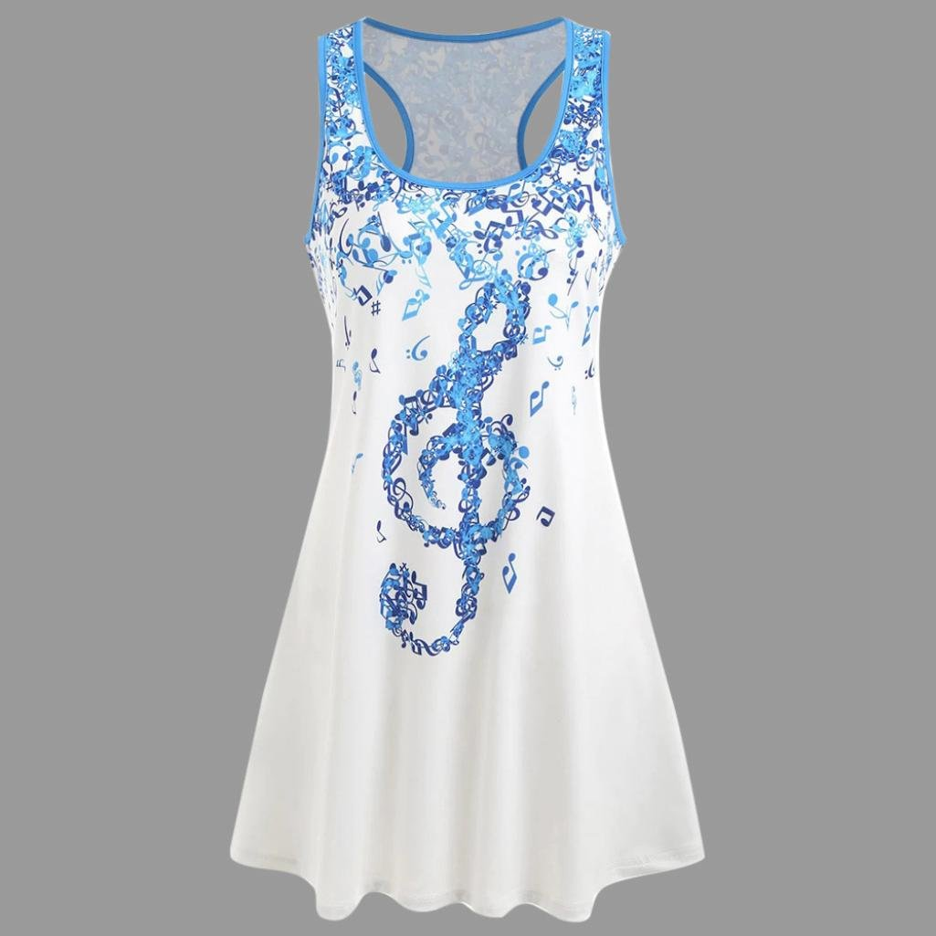 Amazon.com: Teresamoon Deal Womens Musical Note Shirt Clothes Tank Top: Arts, Crafts & Sewing