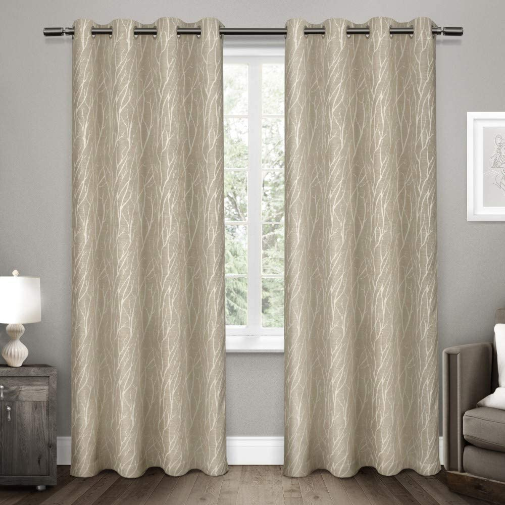 Exclusive Home Curtains Forest Hill Panel Pair, 84
